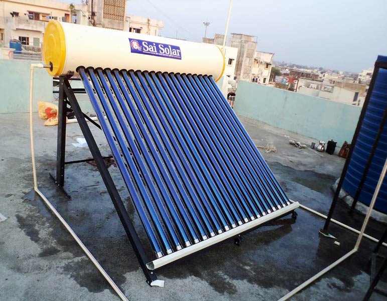 solar water heating india