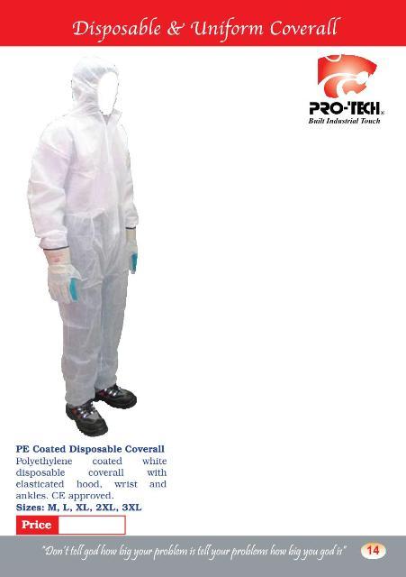 Disposable & Uniform Coverall (COV6)