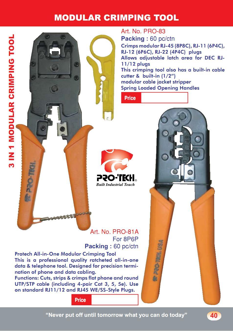 Modular Crimping Tool (MCT01)
