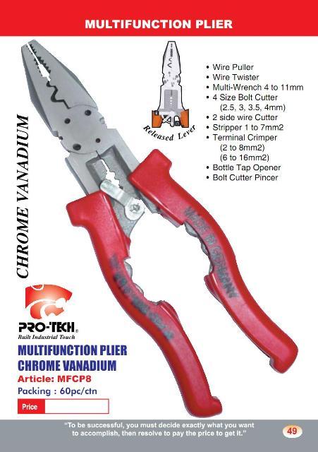 Multi Function Plier (PL08)