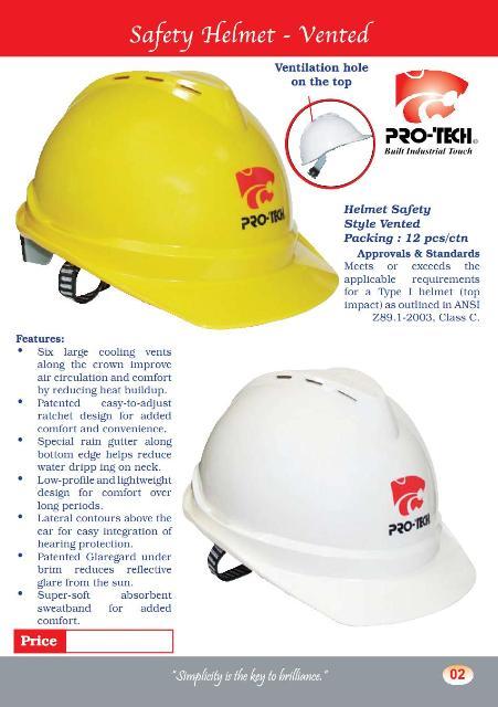 Safety Helmet Heavy Duty (SH1)