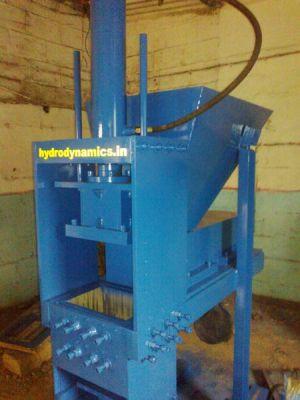 Hydraulic Brick Making Machine