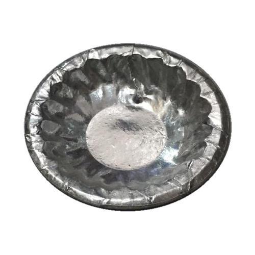 Disposable Silver Laminated Bowls