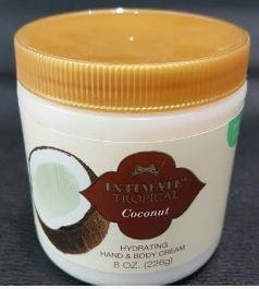 Coconut Hand & Body Cream 226g