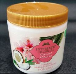 Coconut Hibiscus Hand & Body Cream 226g