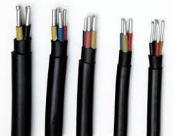 PVC INSULATED 4 CORE  ALUMINIUM CABLE ROUND
