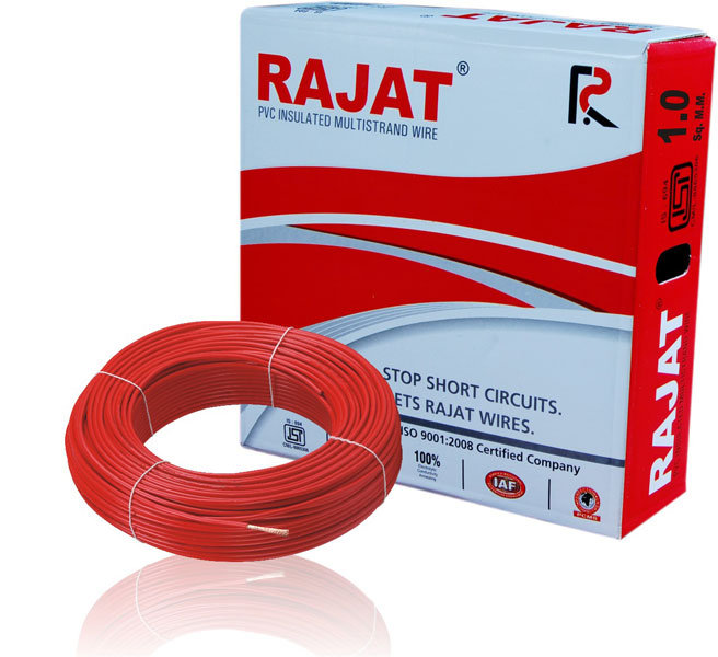 pvc insulated multi strand wires (RAJAT001)