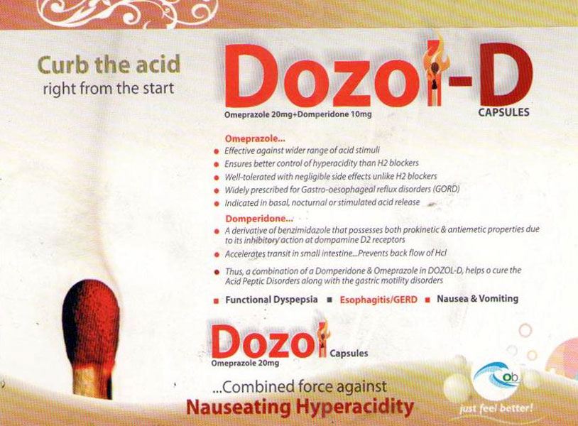 Dozol D Capsules Manufacturer Manufacturer From Solan India Id