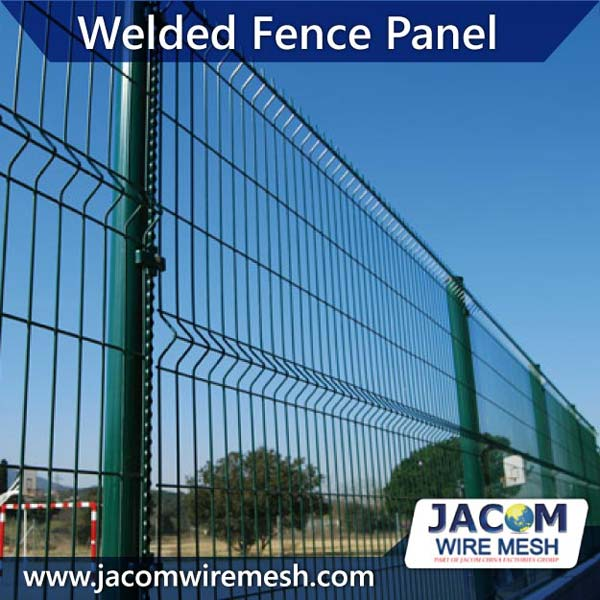 PVC Coated Welded Wire Mesh Fence Panel 2 - 2,5m Manufacturer ...