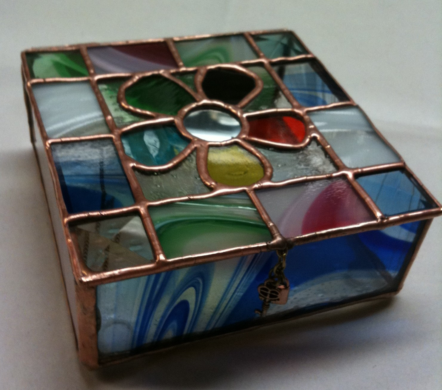 Buy Stained Glass Jewelry Box from M/s. Svocan Handicrafts ...