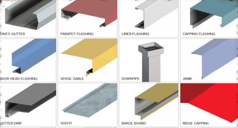 Buy Metal Roof Flashings From Raj Roofing Company India