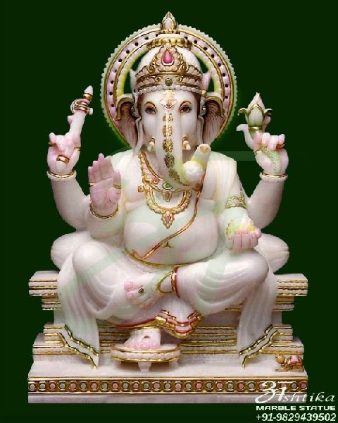 Marble Ganesha Statue Manufacturer In Jaipur Rajasthan India By