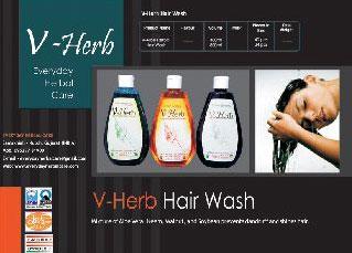 Herbal Hair Wash Shampoo (Herbal Hair Wash Sha)