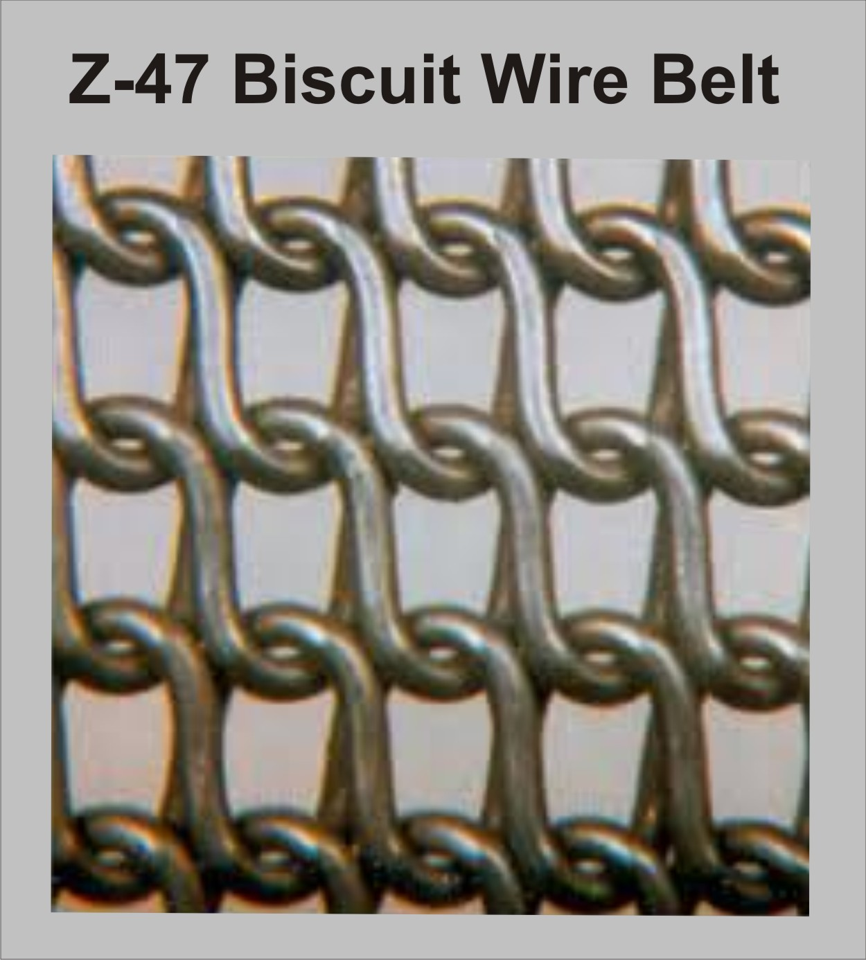 Wire Biscuit Baking Oven Belt Manufacturer & Manufacturer from ...