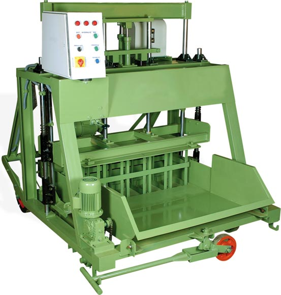 Hydraulic Concrete block making machine (IMW 860)