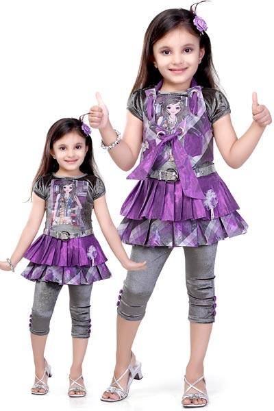 Girls Leggings Dress