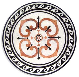 Round Floor Tiles