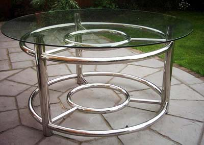Stainless Steel Round Table (Stainless Steel Roun)