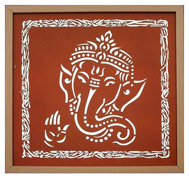 Shri Ganesh Wall Painting Manufacturer In Agra Uttar Pradesh India