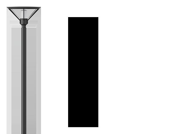 Anesti Post top luminaires