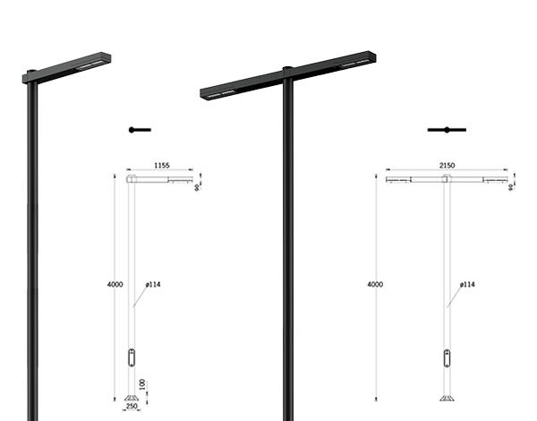 Light Linear Denver Street Luminaire