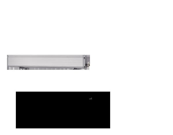 Light Linear Wall washer luminaire