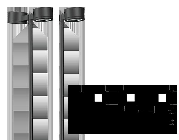 area lighting luminaires