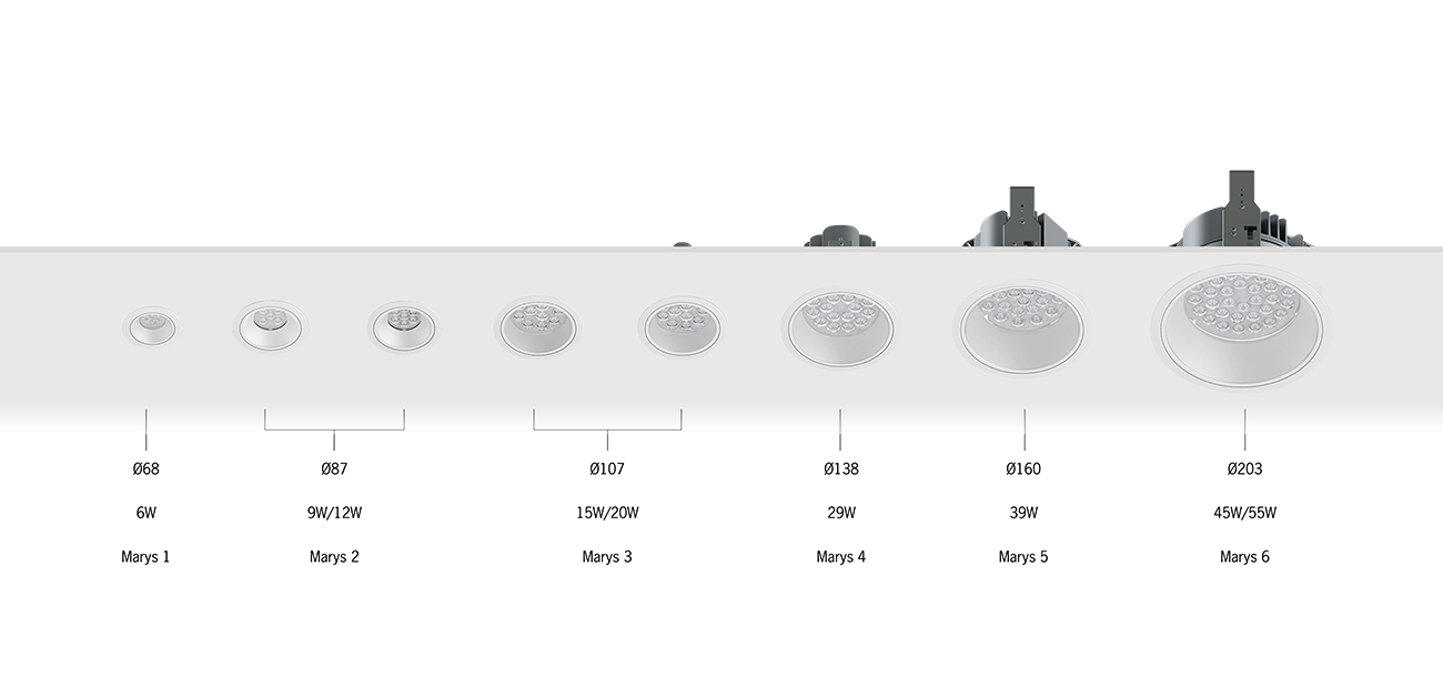 Marys Recessed Downlights