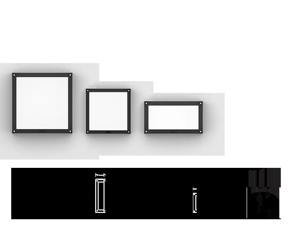 Paletta Surface mounted luminaires