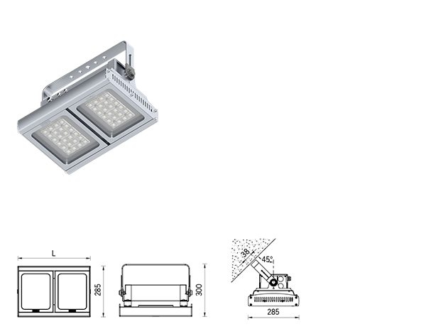 PowerVision Surface high bay luminaires