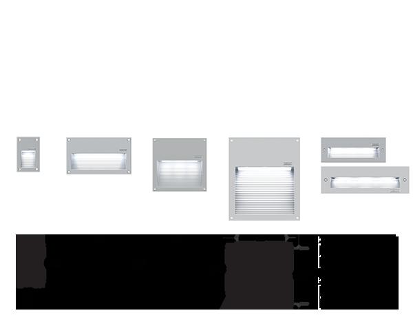 Rado Recessed location luminaires