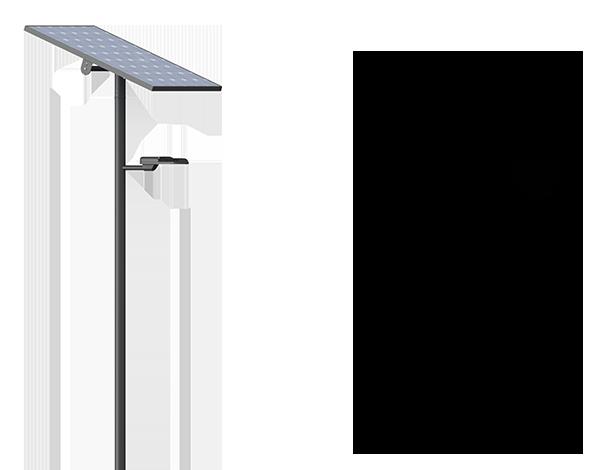 Solar lighting luminaires