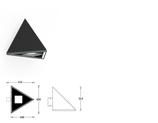 Triangle Wall luminaires