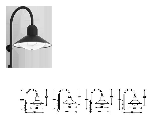 wall luminaires