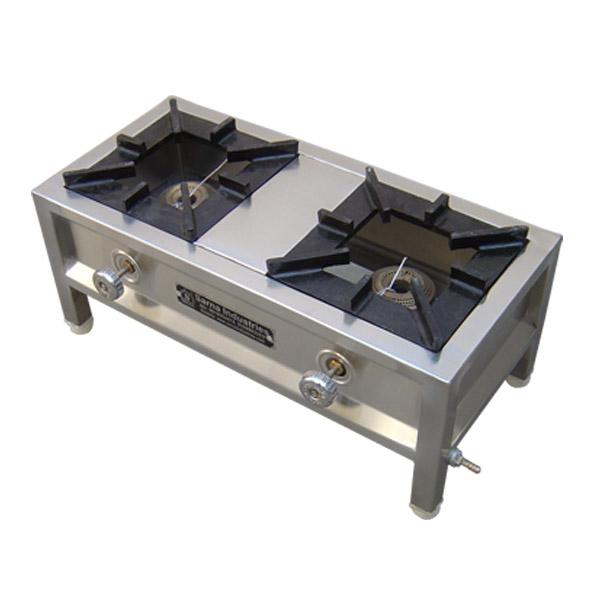 Double Burner Cooking Range - Mini (CR-124)