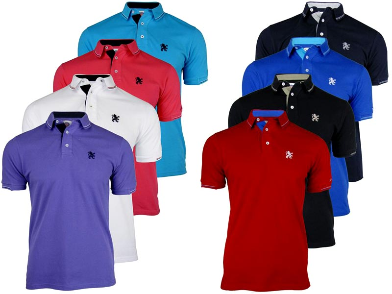 f7cdd6dbbb74 Buy Mens Polo T-Shirts from Digemb Creations, Pune, India   ID - 1276047