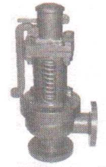 Cast Iron Spring Loaded Single Post Safety Valve (BV310)