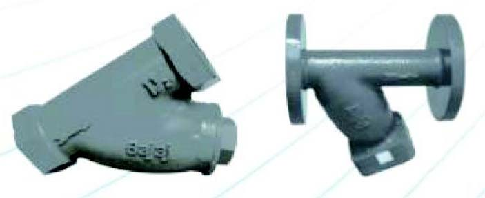 Y Type Strainers