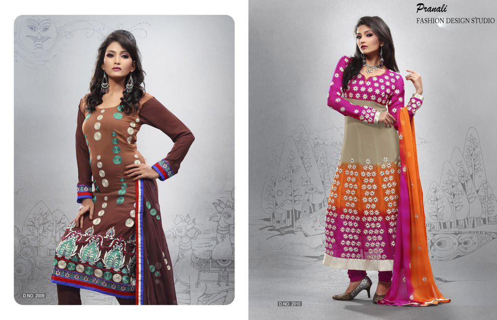 Anarkali Salwar Kameez Manufacturer Exporters From Surat India Id 469754