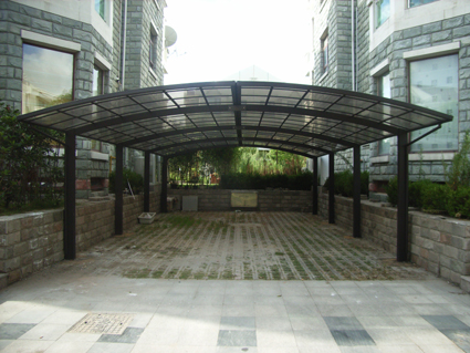 Buy Outdoor Leisure Hood Car Shelter From Zhicheng Metals