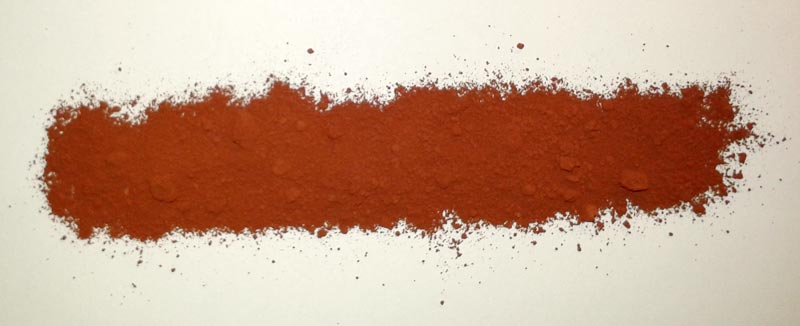 Natural Red Iron Oxide Powder