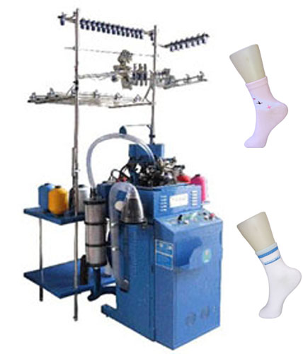 plain computeried sock knitting machine 466087