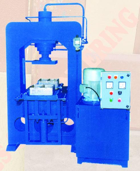 Four Block Tile Press Machine