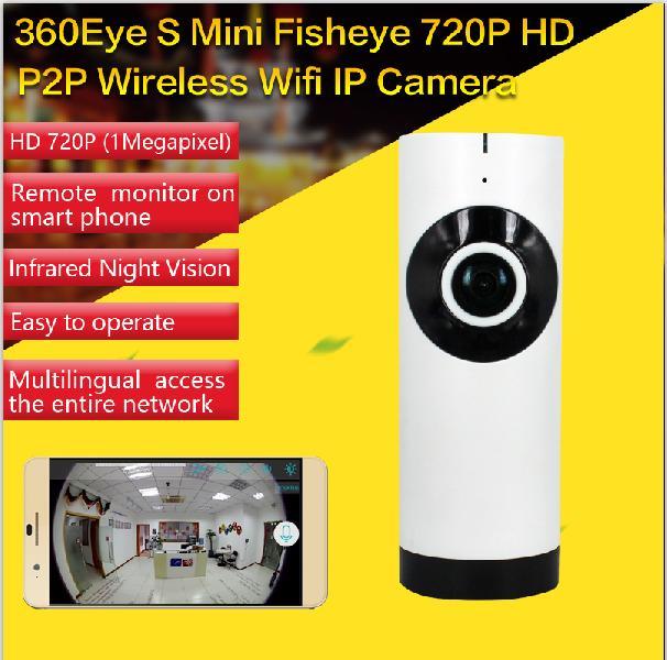 360 Fisheye Wireless IP Camera