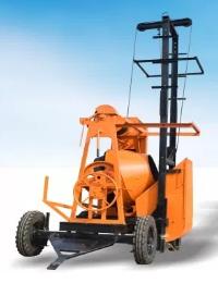 concrete mixer machine lift