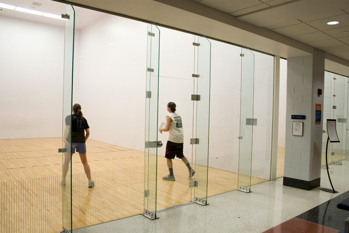 Squash court glass back wall manufacturer in mumbai for Build a racquetball court
