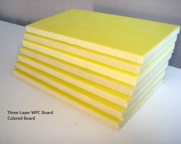 Wpc Three Layer Board Manufacturer  U0026 Exporters From