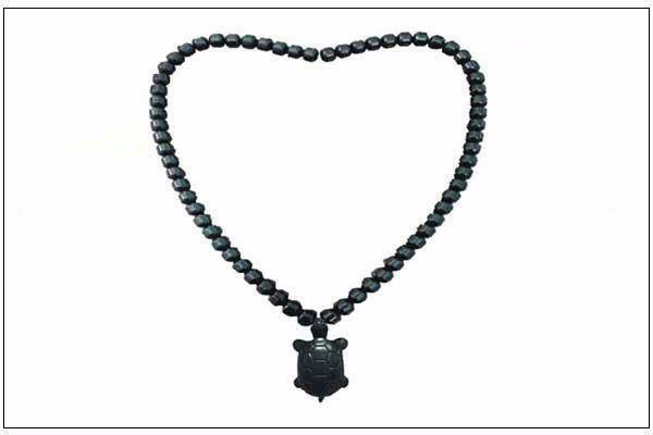 Tourma stone necklace with negative ions
