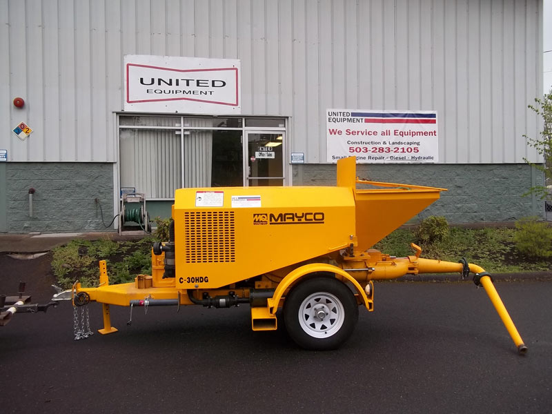 Concrete Pump Manufacturer in Portland United States by United