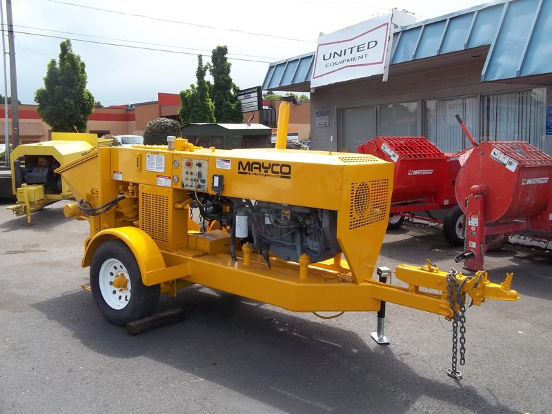 Used Mayco Ls50 Concrete Pump for Sale Manufacturer in Portland